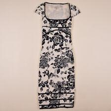 Karen Millen Damen Bleistiftkleid Blumen Dress Gr.40(wie 38) Cocktailkleid 78327