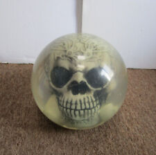 X-Vision Cranium Tribe Clear Skull Drilled Bowling Ball