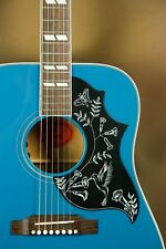 Gibson Hummingbird Custom Blue Finish Acoustic Guitar