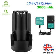 12V 3000mAh Li-ion Battery For Black Decker BL1310 LBX12 LDX112 HPL106 EGBL108