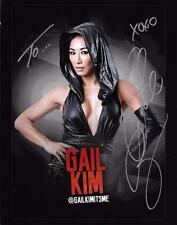 "GAIL KIM Official Autographed 8x10 Photo Signed 2 You TNA Impact WWE Hood ""F"""