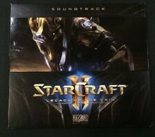 Starcraft II 2 Legacy of the Void Soundtrack CD Collector's Edition PC - VGC