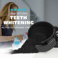 Teeth Whitener Natural Organic Activated Charcoal Bamboo Teeth Whitening Powder