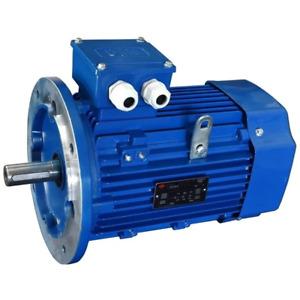 Motore Elettrico Trifase 5.5 kW (7.5 HP) 4 poli Mec 112 B5 230 / 400 V IE2