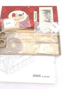 Campbell HO Scale Wood Model Kit Bret's Brewery #385 Unassembled