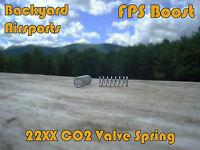 Custom Crosman 22XX CO2 Valve Spring FPS Boost 1740 2240 2250 2260 2300 2400