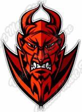 "Satan Devil Lucifer Demon Evil Hell Car Bumper Vinyl Sticker Decal 3.5""X5"""