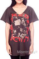 Red Hot Chili Peppers RHCP Women V-Neck T-Shirt Shirt Tshirt Size M L