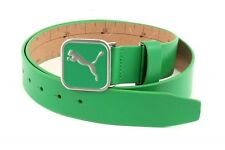 PUMA Cintura Cut-To-Length Square Belt W110 Bright Green