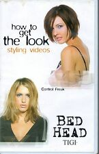 TIGI HOW TO GET THE LOOK STYLING VIDEOS CONTROL FREAK BED HEAD BIG BOX VIDEO