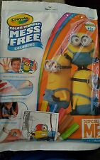 CRAYOLA COLOR WONDER DESPICABLE ME MINIONS~INCLUDES 18PGS&5 MARKERS~AGES 3+~NIP