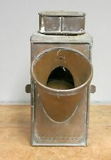 Antique Brass Navigation Marine Lantern Kelvin Bottomley and Baird