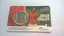 Nederland 2017 5 Euro Het Johan Cruijff vijfje BU / Stempelglanz in Coincard