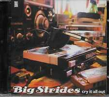 Big Strides ‎– Cry It All Out CD 2006