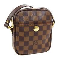 LOUIS VUITTON RIFT CROSS BODY SHOULDER BAG SR0095 PURSE DAMIER N60009 01048