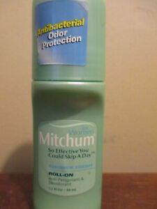 Vintage Mitchum women shower fresh roll On 1.5 oz Old formula
