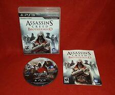 Assassin's Creed: Brotherhood (Sony Playstation 3 PS3, 2010)