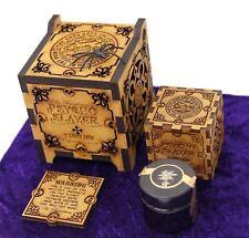 Dr Burnorium Psycho Slayer Dark Arts 9 Million Hot Capsaicin Extract Carved Box