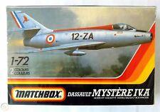 Matchbox PK-47 - Dassault Mystère Iv.a - 1:72