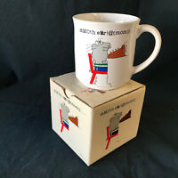 Sandra Boynton Mom Mother Cat Typewriter Mug Cup Coffee Tea Gift w/ Box VTG