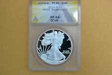 2014 W PROOF SILVER EAGLE ANACS PF69 DCAM
