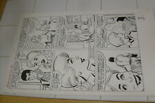 PATSY WALKER #108 ORIGINAL ART, PAGE 3, AL HARTLEY?, MARVEL LARGE ART Comic Art