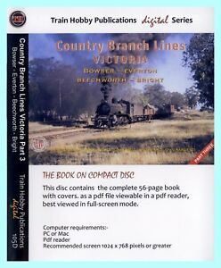 Country Branch Lines Victoria Part 3 - Bowser - Everton - Beechworth - Bright