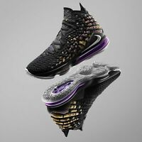 Nike LeBron XVII EP 17 James LBJ Lakers Black Purple Gold Men Women Kids Pick 1