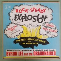 BYRON LEE & THE DRAGONAIRES Rock-Steady Explosion LP 1968 Reggae LP