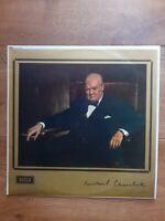 Winston Churchill – The Voice Of Winston Churchill LXT 6200 Vinyl, LP, Mono