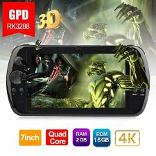 "GPD Q9 7""Android Gamepad RK3288 Quad Core 3D 4K Game Console Mini Tablet PC NEW"