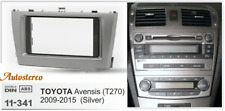 Trim Surround Adaptor Car Stereo Radio fascia for TOYOTA Avensis 2011+