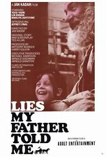 LIES MY FATHER TOLD ME Movie POSTER 27x40 Yossi Yadin Len Birman Marilyn