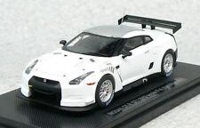 Ebbro 44317 Nissan GT-R GT1 2010ver. Fuji Shakedown No.1 ( White ) 1/43 scale