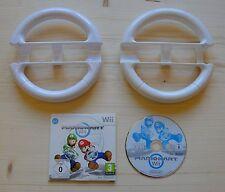 Wii-Mario kart wii incl. deux wii wheel/volant