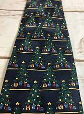 Ho Ho Ho Christmas Tree Tie