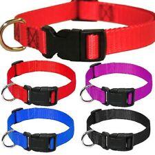 Dog Collar Nylon Neck Strap Adjustable for Large Medium Small Pet Dog Cat Puppy