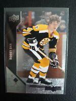 2011-12 Black Diamond Hockey #10 Bobby Orr Boston Bruins Upper Deck