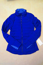 Lululemon Fluffed Up Jacket Pigment Blue 8 10 (Size 12 sold)