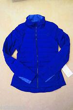 Lululemon Fluffed Up Jacket Pigment Blue 8 10 12
