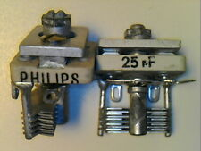 1 pcs Variable capacitor Philips NOS 25pF