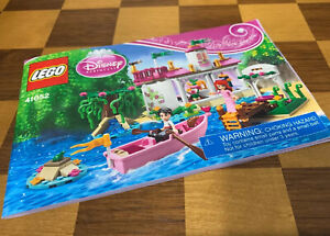 Disney Princess Lego 41052 Instructions ONLY Booklet Manuals