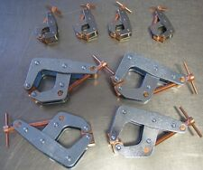 Kant Twist Clamps Lot of 8 NEW USA Made T-Handle 4 X 401 and 4 X 405 Machinists