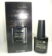 CND Shellac Gel Xpress5 Top Coat 0.5oz LARGE SIZE new with box fast shipping!!