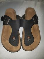 Birkenstock Gizeh Leather Sandals Made in Germany Women 38 US size 7 / 7.5  C-D