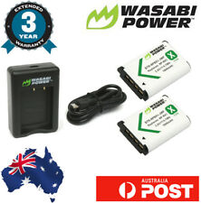 Wasabi Power Battery for Sony NP-BX1, NP-BX1/M8 (2-Pack) and Dual Charger