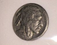 """1918 """"P""""  Buffalo Indian Head Nickel w/Faint Date"""