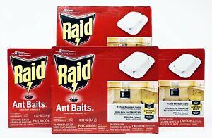 4 Raid Ant Baits 16 Count Child Resistant Baits Traps Kills Ants