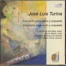 Jose Luis Turina(CD Album)Concierto Para Piano Y Orquesta-Col Legno-WWE-VG