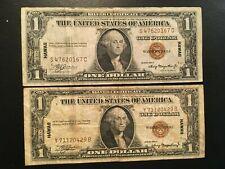 USA  (2 Notes)  1 Dollar 1935  -- HAWAII
